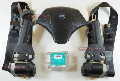 Kit Air Bag Simples Bolsa Cintos Modulo Fiat Palio Strada Siena Style 96 97 98 99