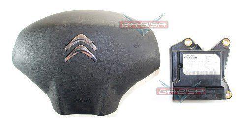 Kit Air Bag Aircross 011 013 Duplo Bolsas Modulo P Citroen