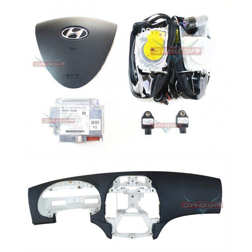 Kit Air Bag Hyundai I30 010 012 Duplo Bolsas Modulo Cintos