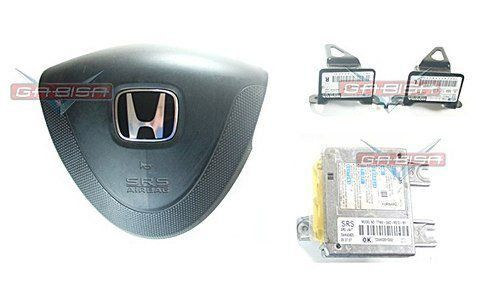 Kit Air Bag Simples Bolsa Modulo Sensores Honda Fit 03 04 05 06 07 08