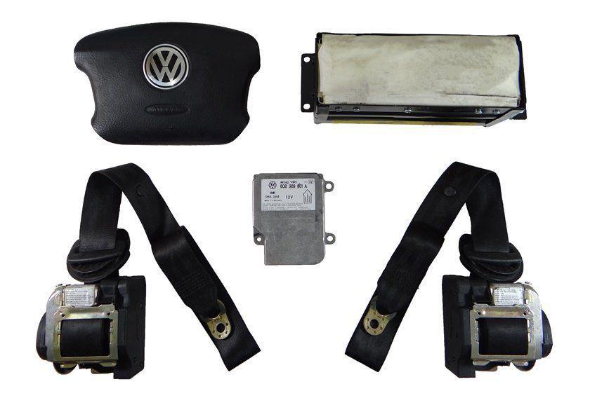 Kit Air Bag Bolsas Cintos Modulo Sem Moldura do Painel Vw Passat E Variant 99 00 01 02 03 04
