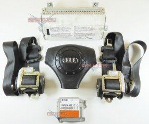 Kit Air Bag Bolsas Cintos Modulo Audi A4 2001