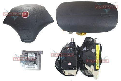Kit Air Bag Bolsas Cintos Modulo Palio Strada G2 Celebration
