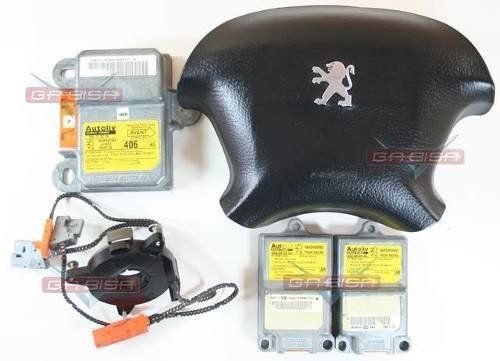 Kit Air Bag Bolsa Motorista Modulo Hard P Peugeot 406 2001