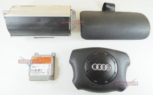 Kit Air Bag Bolsas Modulo Moldura do Painel Audi A3 97 98 99