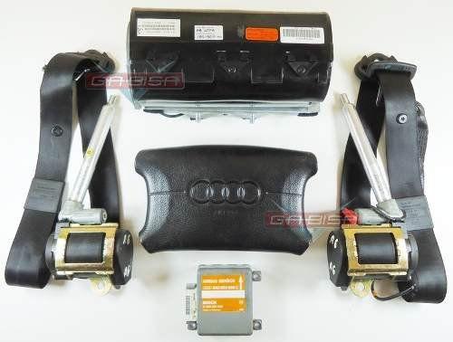Kit Air Bag Audi A4 1995 Á 1998 Bolsas Cintos Modulo