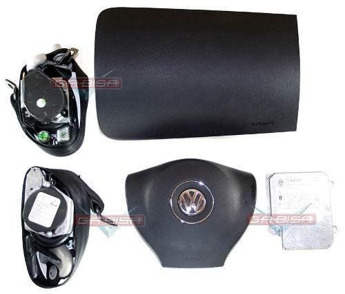Kit Air Bag Fox Cross 09 012 Bolsas Modulo 1c0909605k