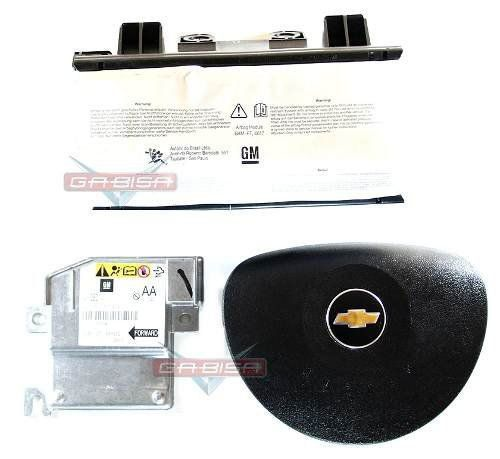 Kit Air Bag Agile 010 011 012 013 Bolsas Modulo Gm