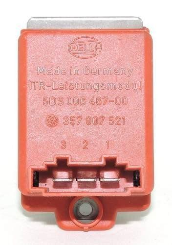 Resistência Do Ar Condicionado Original 1J0907521 Audi A3 Golf 98 99 00 01
