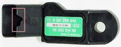 Sensor De Pressão Map Citroen Peugeot 0261230043 9639381480