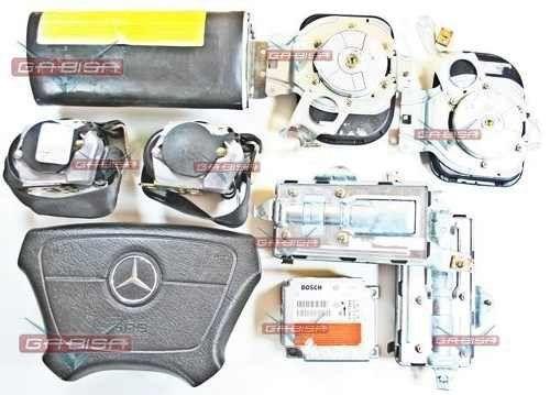 Kit Air Bag Bolsa Hard Modulo 0018202226 Mercedes E320 98