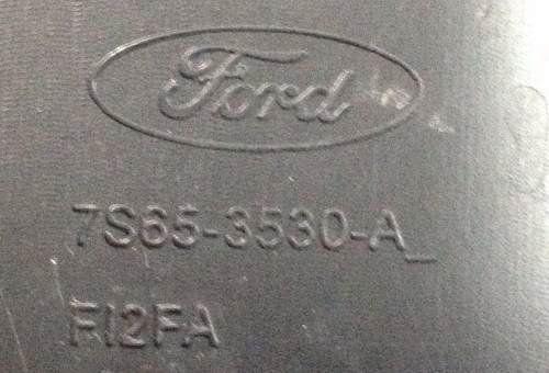 Fiesta Class 2015 Acabamento Moldura Superior D Chave D Seta