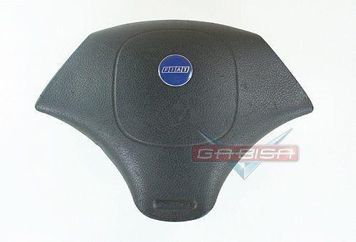 Bolsa Air Bag do Motorista Logo Azul Tampa do Volante Buzina Fiat Palio Strada Siena 96 97 98 99