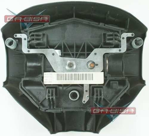 Bolsa Air bag Do Motorista Tampa da Buzina do Volante 96441166zr Peugeot 206 207 06 07 08 09 010 011 012