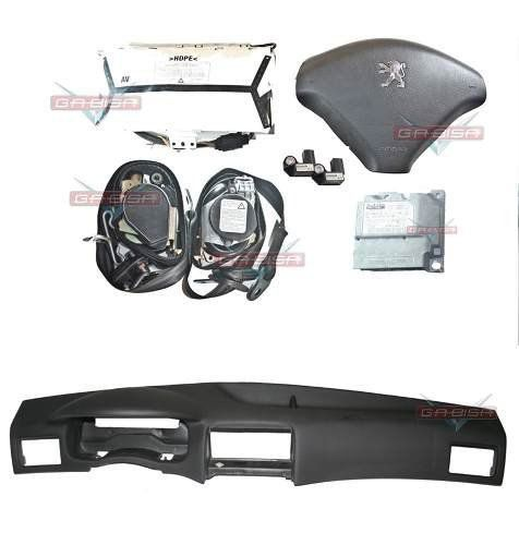 Kit Air Bag Do Painel Bolsas Modulo Cintos Original Peugeot 307 06 07 08 09