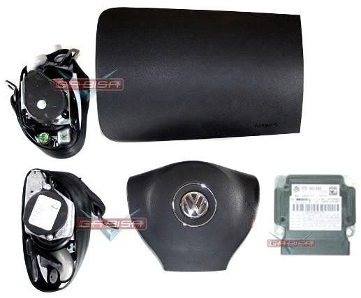 Kit Air Bag Fox Cross Space 013 014 Bolsas Modulo Cintos