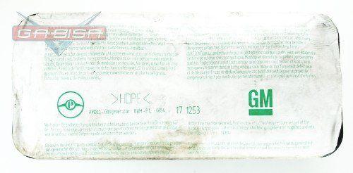 Bolsa Air Bag do Painel Direito Passageiro 90561101 Gm Astra Zafira 99 00 01 02 03 04 05 06 07 08 09 010 011 012