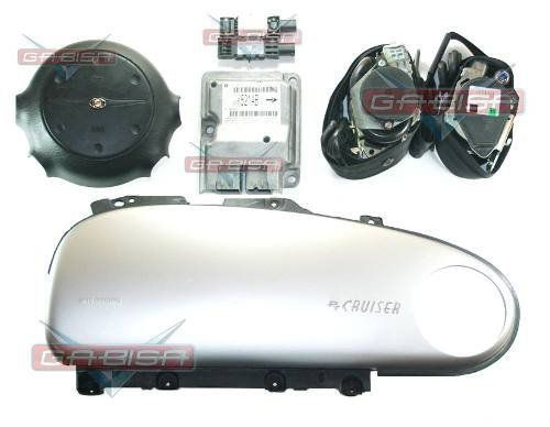Kit Air Bag Bolsas Modulo Cintos Chrysler Pt Cruiser 01 02 03 04