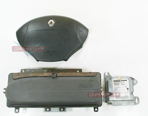 Kit Air Bag Bolsas E Modulo Do Painel Original Renault Scenic 99 00 01 02