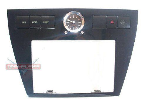 Moldura Central De Radio do Painel Com Relogio E Botões Ford Fusion 06 07 08 09