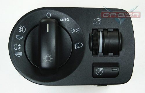 Botão Int  Audi A3 Sportback NT De Farol E Milha 8p1941531t  - Gabisa Online Com Imp Exp de Peças Ltda - ME