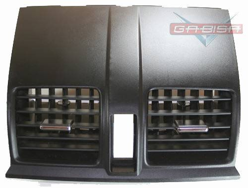 Difusor De Ar Central Do Painel Com Pino Cromado Original Honda Crv 07 08 09 010 011