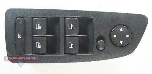 Conj Botão Bmw 118 120 130 D Vidro Retrovisor Motorista