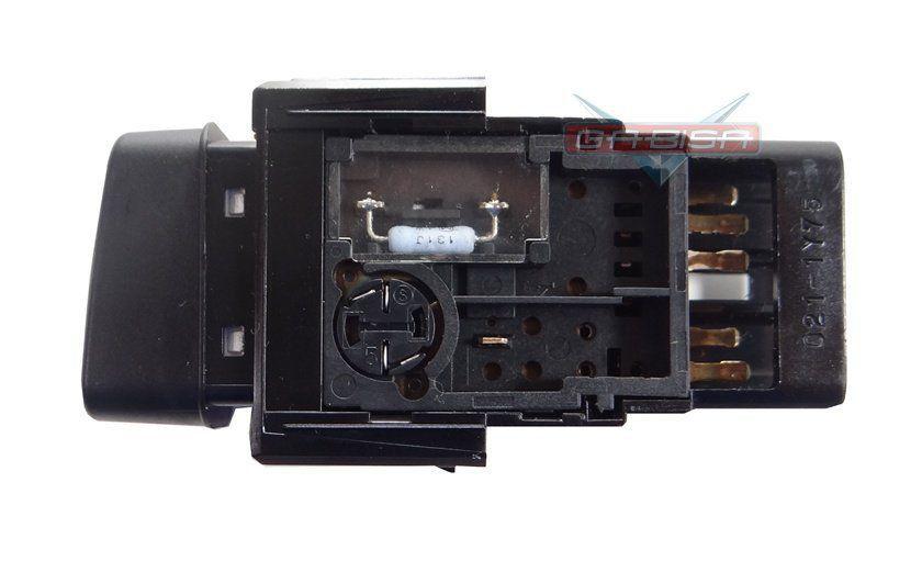 Botão Toyota Hilux 06 012 Interruptor De Pisca Alerta