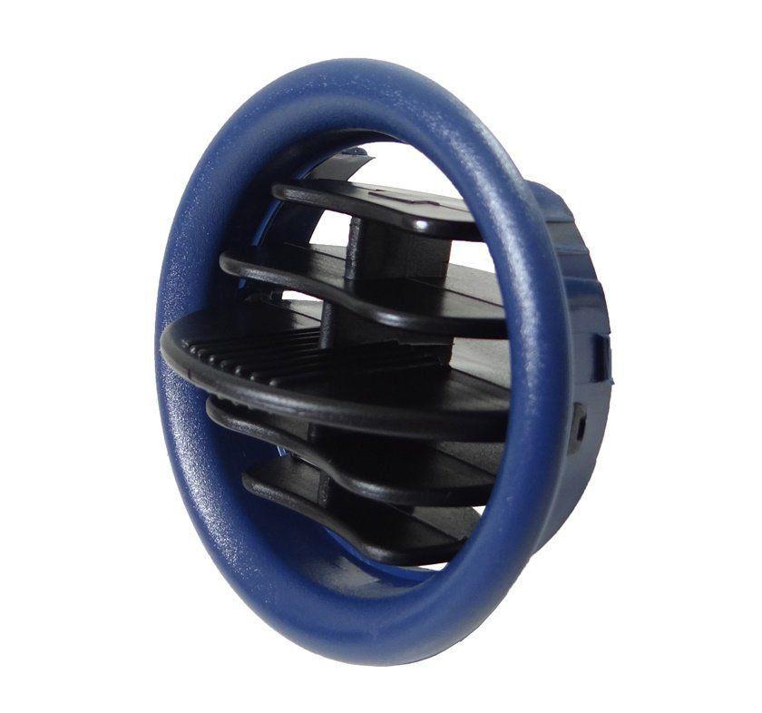 Gm Celta De 01 Á 06 Tela Difusor De Ar Azul Do Painel