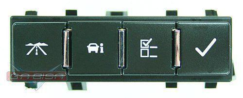 Botão De Comando  Gm Captiva 09 011 Do Computador D Bordo