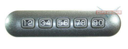 Interruptor D Senha D Porta Motorista P Ford Fusion 06 012 NT