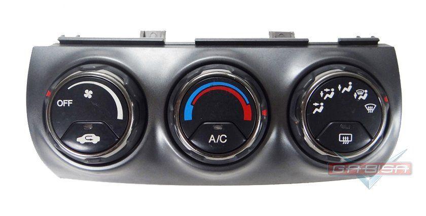 Comando Controle de Ar Condicionado do Painel Com Detalhe Cromado Original Honda Crv 04 05 06