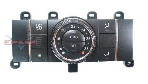 Comando Controle De Ar Condicionado Do Console Painel Mercedes ML W164 05 06 07 08 09 010 011