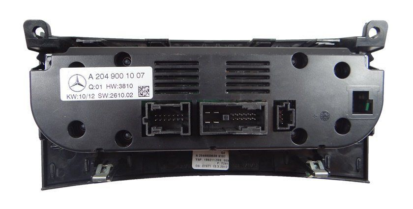 Comando Controle De Ar Condicionado Do Painel Original a2049001007 Mercedes C180 08 09 010 011 012 013 014
