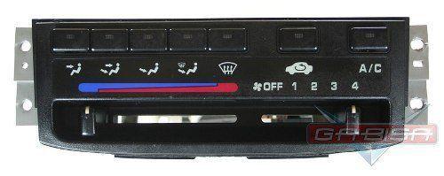 Comando Controle De Ar Condicionado Do Painel Ar Quente Desembaçador Direcionador Ventilador Honda Civic 96 97 98 99 00