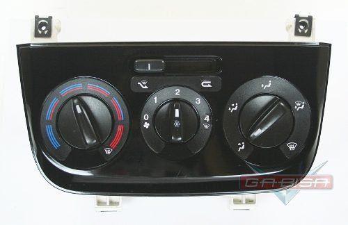 Comando Controle De Ar Condicionado Preto Original Fiat Punto Linea 08 09 010 011