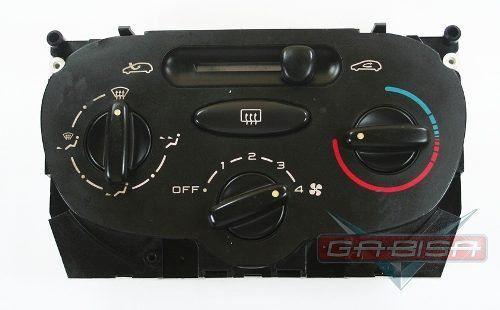 Comando Controle De Ar Quente Ventilador Do Painel Original Peugeot 206 207 03 04 05 06 07 08 09 010 011 Sem Ar Condicionado