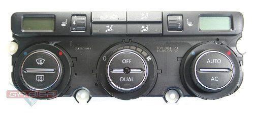 Comando Controle De Ar Condicionado Do Painel Vw Jetta 07 08 09 010