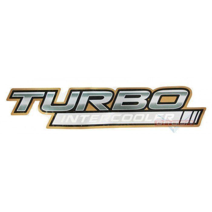 Adesivo Faixa Lateral Turbo Intercooler P Hilux Srv 06 Á 08