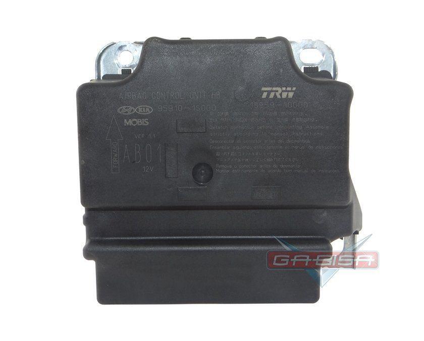 Modulo Central De Air Bag ECU Trw Is95910000 959101s000 Hyundai Hb20 012 013 014 015 Conector Branco