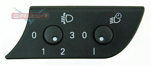Botão Int Audi A4 02 06 D Regulagem D Altura Do Farol