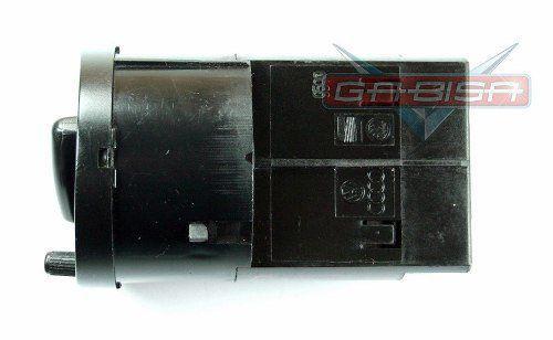 Conjunto Botão De Lanterna Farol do Painel Com Reostato Original Vw Gol Parati Saveiro G2 98 99 00 01