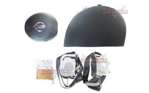 Kit Air Bag March 012 013 Duplo Bolsas Modulo Cintos Nissan  - Gabisa Online Com Imp Exp de Peças Ltda - ME