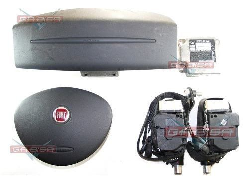 Kit Air Bag Duplo Bolsas Modulo Cintos Fiat Doblo 2012
