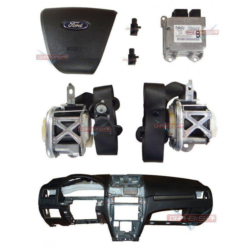 Kit Air Bag Painel Bolsas Modulo Cintos Ford Fusion 010 011 012  - Gabisa Online Com Imp Exp de Peças Ltda - ME