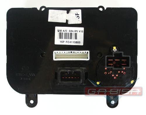 Comando Controle De Ar Condicionado Original Hyundai I30 08 09 010 011 012  - Gabisa Online Com Imp Exp de Peças Ltda - ME