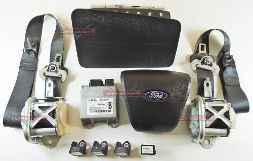 Kit Air Bag Fusion 06 09 Bolsas Cintos Modulo Sensores Ford