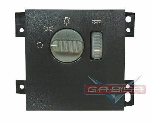 Botão Interruptor de Lanterna Farol Reostato Luz Regulagem de Iluminação do Painel Gm S10 e Blazer 01 02 03 04 05 06 07 08 09 010 011