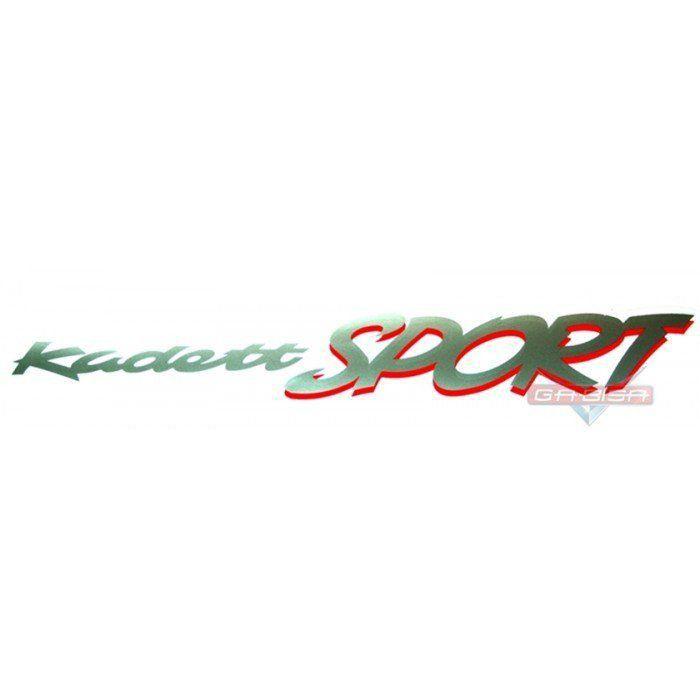 Adesivo Faixa Lateral Kadett Sport P/ Gm Kadett Sport