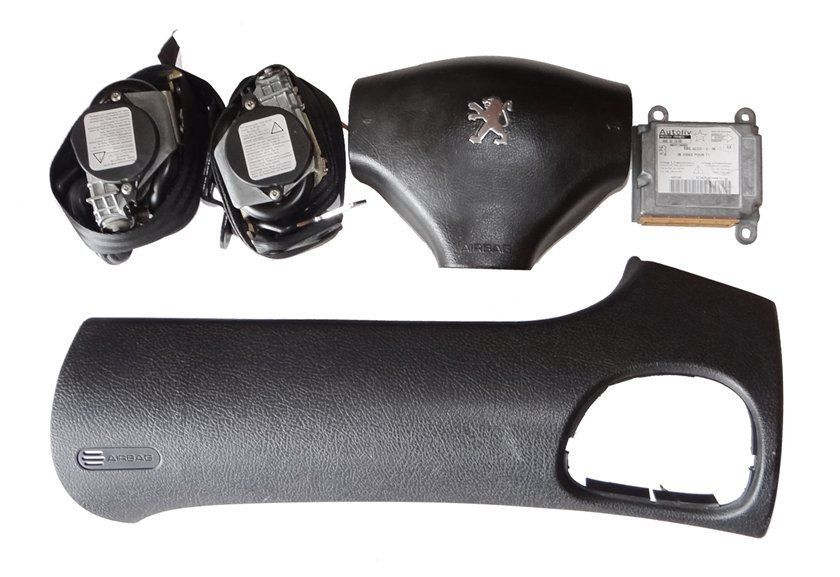 Kit Air Bag Bolsas Modulo Cintos Moldura P Peugeot 206 03 06